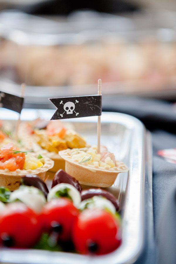 Детский день рождения в лофте на пиратскую тематику