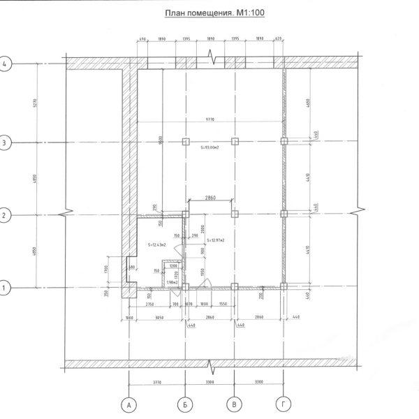 План лофта