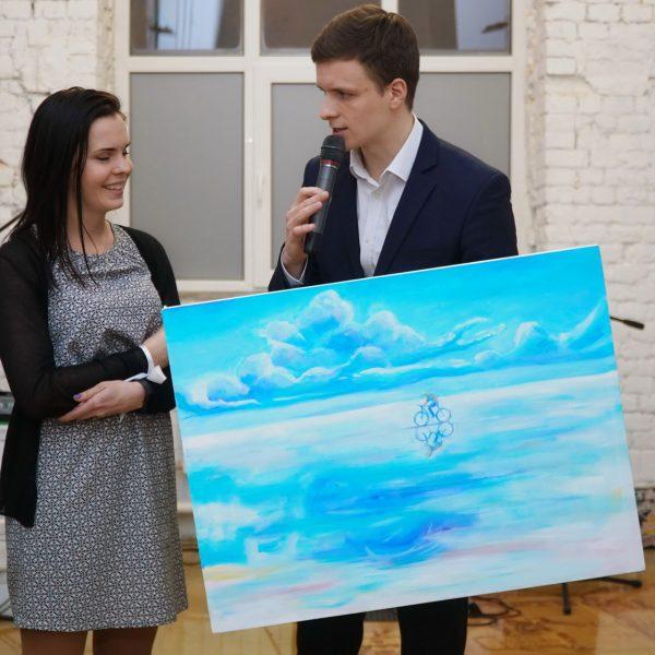 Выставка работ Вероники Мандрейчук