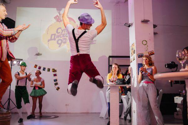 Незабываемая вечеринка на Трехгорке: вечеринка для друзей в лофте